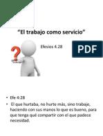 El Trabajo Como Servicio