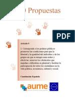 AUME - 100 propuestasde Ciudadania