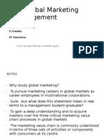 Global Marketing DSA