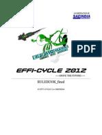 Rulebook EFFICYCLE12 Final