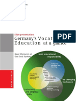 Germanys Vocational Education at a Glance