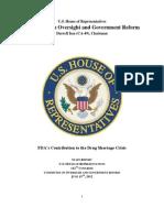 US  Food & Drug Administration's Contribution to the Drug Shortage Crisis (June, 2012)