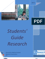 Students Guide to Research Methodology (Undergraduate)