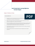 Ctps Learning Objectives List