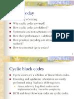 I2IT Cyclic Block Codes