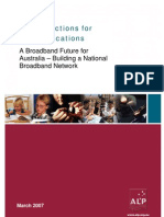 'New Directions for Communications' - 2007 Australian Labor Party Broadband Policy