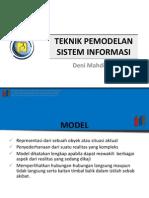 Teknik Pemodelan Sistem Informasi