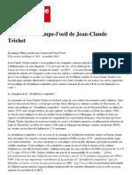 Bilan JC Trichet
