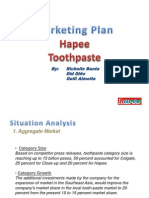 Marketing Plan Hapee Toothpaste
