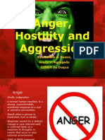 Anger, Hostility and Aggression