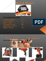 Black Decker CaseStudy Ppt