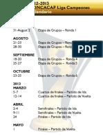 calendario concachampios