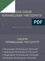 Dasar Pembangunan Partisipatif