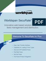 WorldSpan - 9I09 SecuRate Air Plus