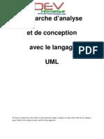 UML - Cas Complet - Démarche d'analyse et de conception avec le langage UML par JC CORRE