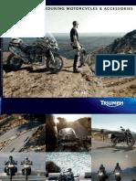 2012 - Triumph Adventure & Touring Motorcycles & Accessoires 2012