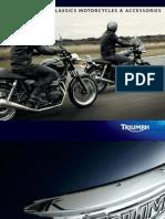 2012 - Triumph Classic Motorcycles & Accessoires 2012