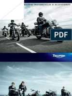 2012 - Triumph Cruisers Motorcycles & Accessoires 2012