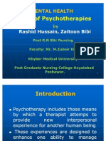 Psychotherapy Types