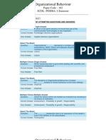 Scdl Organizational Behaviour Paper - 2