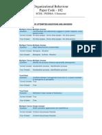 Scdl Organizational Behaviour Paper - 3