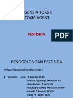 AGENSIA TOKSIK (PESTISIDA)