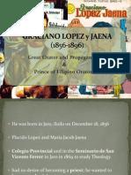 Graciano Lopez y Jaena