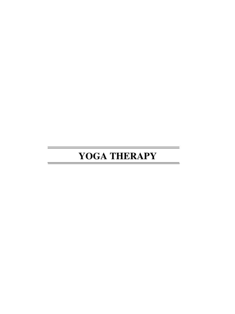 Yoga Therapy Full Book | Asana | Yoga