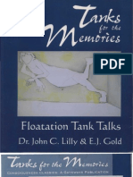 John C. Lilly and E.J. Gold - Tanks for the Memories - Float at Ion Tank Talks v0.9