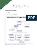 Organisasi Dan Tata Kerja Jamsos Indonesia