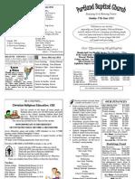 PBC Bulletin - June 17