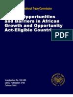 Africa USA Export Plan