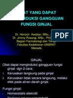 Obat-Obatan Yg Menginduksi Gangguan Fungsi Ginjal-Dr.H.awaloei