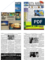 "Kuta Weekly-Edition 289 ""Bali""s Premier Weekly Newspaper"""