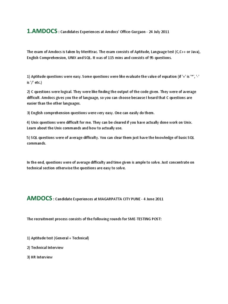 Placement Papers   Software Bug   C (Programming Language)