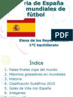 11elenadelosreyes11 Historia de España en los mundiales de fútbol