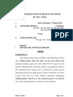 Anuradha Mithal vs. Alok Kumar Jain High Court of Delhi 01-3-2012