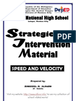 Speed and Velocity
