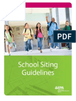 School Siting Guidelines
