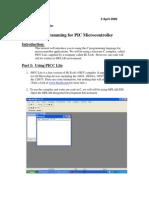 Programacion en C Para Microcontroladores
