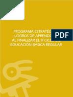 Logros Aprendizaje Ciclo III Introduccion General Mef
