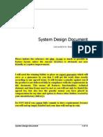 Sw Design v1.1doc