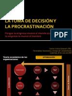 La Toma de Decisión- La Procrastinación