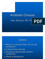 Antibiotic Choices