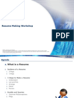 Resume Making Workshop - IIT Bombay