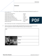 Diamonds Are Forever Worksheet