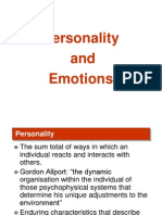 Personality & Emotions