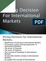 Int. Pricing Factors 2