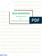 Web Browsers by Bhupender Khatri