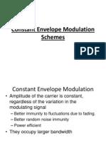 Constant Envelope Modulation Techniques